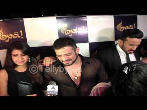Karan Patel and wife Ankita at Divyanka and Vivek's wedding reception