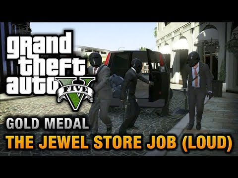 gta 5 mission 13 the jewel store job loud approach 100 gold medal walkthrough. Black Bedroom Furniture Sets. Home Design Ideas