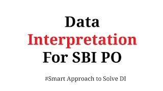 Data Interpretation shortcuts for Bank PO In Hindi Part 1