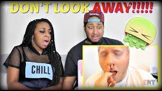 TRY NOT TO LOOK AWAY CHALLENGE!!!!! SUPER DISGUSTING!!!
