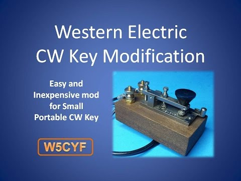 Western Electric 6-B Mini CW Key