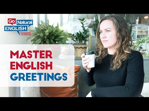 Speak English Naturally - Basic Free Lesson - How's it Going?