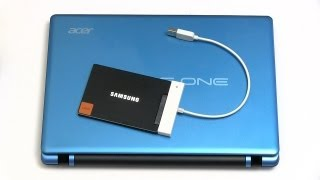 Laptop SSD Upgrade (Aspire One 725)