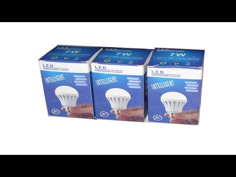 Tutorial lampu LED emergency