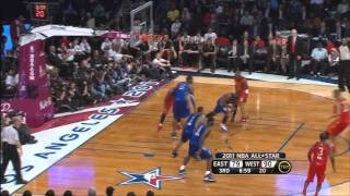 Kobe Bryant Avoids Block By Lebron James - 2011 NBA All-Star Game
