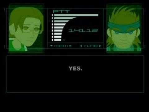 Metal Gear Tech Support