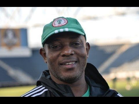 Stephen Keshi has good sense of humour, says Iranian journalist