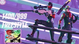 Fortnite Montage 1400 999 Freestyle