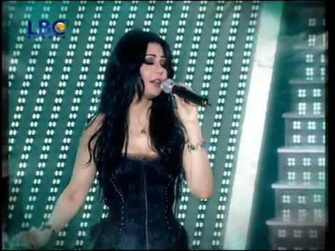 هيفاء وهبي ستار أكاديمي 6 _2009 أغنية يبني لحلال