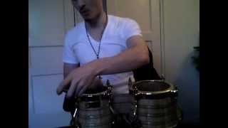 How to Tune Bongos (Como Tocar Bongo) - Bongo Lesson 1 (Tuning) - Nate Torres