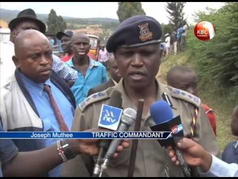 Five people killed in Salgaa accident