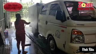 Tư vấn quy trình rửa xe ô tô chuyện nghiệp .Tư vấn thiết bị Vinh Râu 0963408172