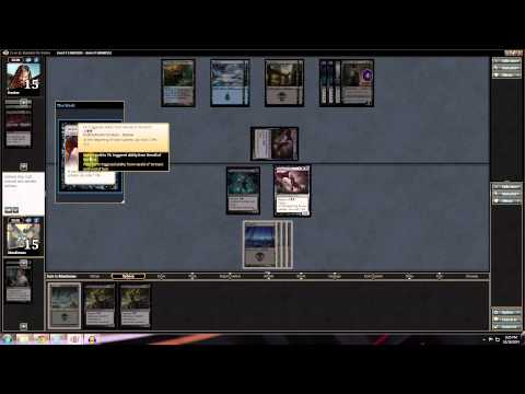 Magic Stronghold: Standard Mono Black Aggro - Match 1
