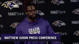 Matthew Judon Says Defense Wanted to Be Heroes, Full Press Conference | Baltimore Ravens
