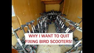 Why I plan to quit working as a BIRD Mechanic