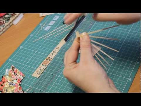 Как сделать светодиодный веер своими руками видео