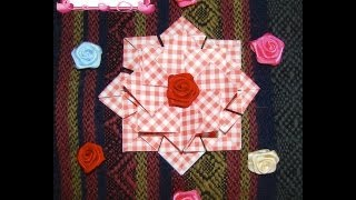 Craft Maniacs 2: Tea Bag Folding 2 - Medallion with Squares