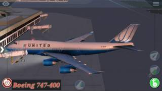X-plane 10 android departure boeing 747-400