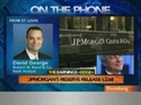 George Says JPMorgan `Well Positioned' for Loan Growth