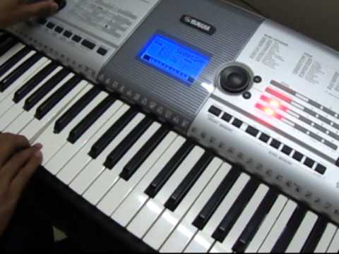 Play in Keyboard - Tamil - Minnale - Vaseegara Song