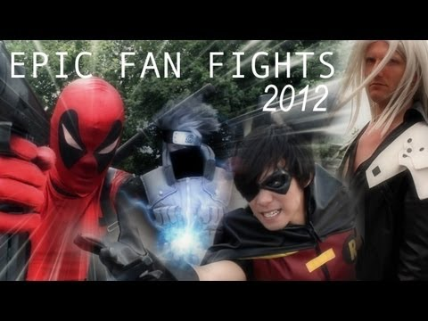 Epic Cosplay Fan Fights 2012