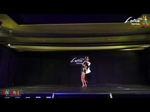 Simone & Serena Salsa Performance | LLF-2017