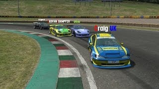 LFS - Live for Speed: 1st Place Cargame GTR (Full Race)