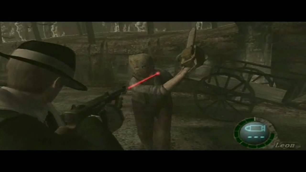 Resident Evil 4 Chainsaw Guy Resident Evil 4 Texas ...