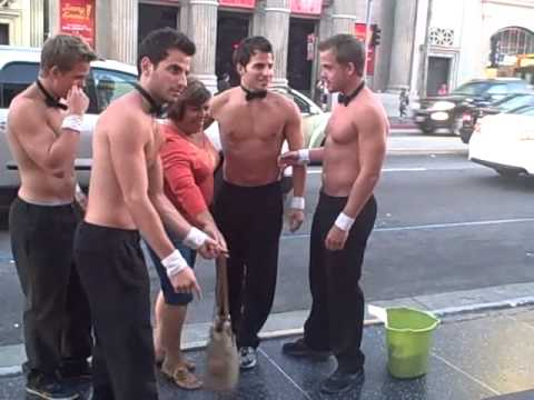 Chicks Love Hollywood Muscle Boys Pt 1 video