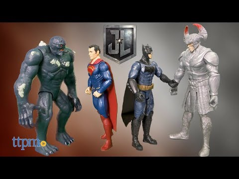 Justice League Steppenwolf Vs. Batman and Justice League Doomsday Vs. Superman from Mattel