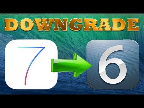 Downgrade de iOS 7 beta a iOS 6.1.3/6.1.4 [iPhone y iPod Touch]