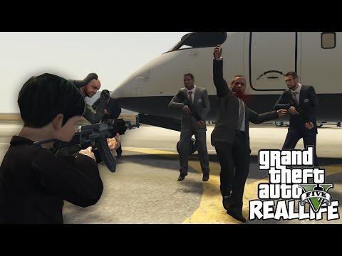 РЖ ПОДРОСТКА в GTA 5 - УБИЛ ПРЕЗИДЕНТА ЗА 5 000 000 $$$ !!!