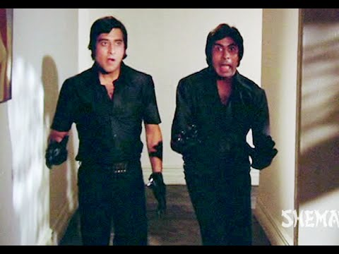Amitabh Bachchan & Vinod Khanna As Funny Black Theifs - Hera Pheri - Comedy Scene video
