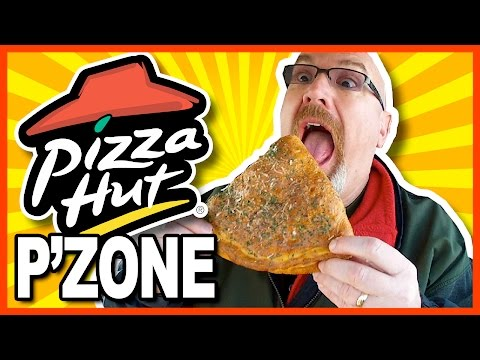 Pizza Hut's Canadian P'ZONE Review with Marinara Sauce