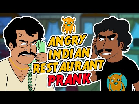Angry Indian Restaurant Prank Call (ft. Rakesh And The Police) video