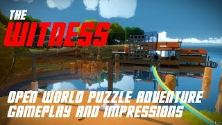 The Witness open world puzzle adventure gameplay and impressions