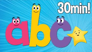 ABC Songs | Phonics Songs | Lowercase | Super Simple ABCs