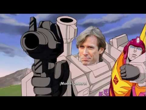 Optimus Prime Vs. Michael Bay