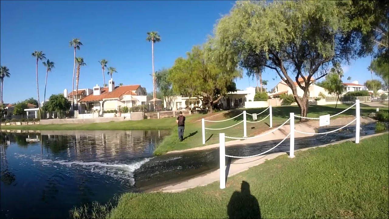 Bass Fishing Arizona Housing Community 2014