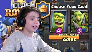 GOBLIN CAGE DRAFT CHALLENGE - Clash Royale