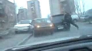 chase & revenge after hit and run in Russia