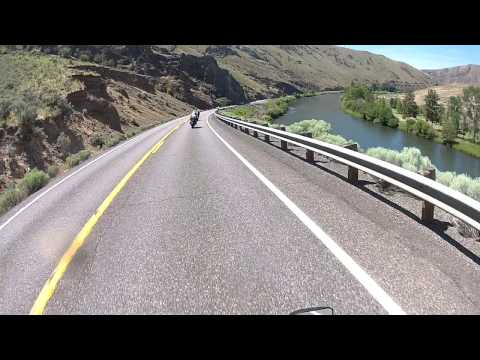 Ellensburg to Yakima WA on Yakima River Canyon Scenic Byway (WA SR 821)