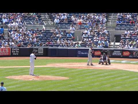 Indians Lonnie Chisenhall Vs Yankees McCarthy 8/9/14 HD