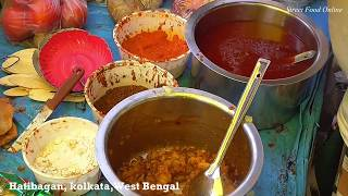 Exciting Papri Chaat of Kolkata Hatibagan | Street Food India