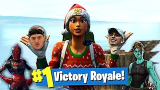 THE FUNNIEST SQUAD EVER WINS WITH STYLE in Fortnite Battle Royale! (Fortnite Funny Moments)