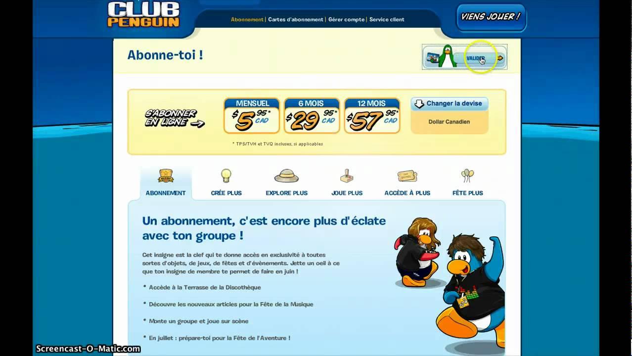 Comment devenir membre sur club penguin - Club penguin gratuit ...