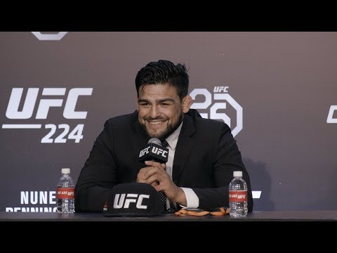 UFC 224: Kelvin Gastelum Post-Fight Press Conference - MMA Fighting