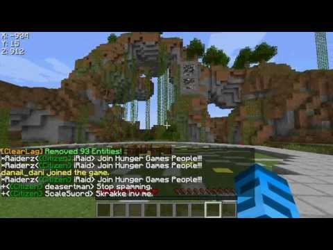 Minecraft 1.6.2 cracked server JOIN NOW!!!! HG WALLS AWESOME WARPS AND MORE