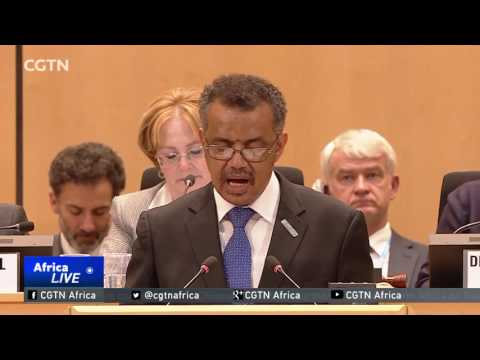 CCTV Ethiopia's Adhanom Becomes First African To Lead UN Health Body