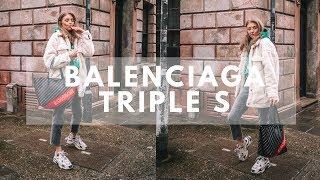 f4faf940d BALENCIAGA TRIPLE S OUTFIT IDEAS